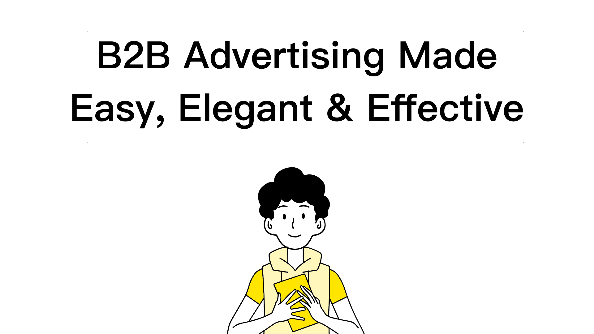 Online ads made easy